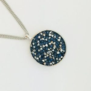 NEW Kenneth Cole Faceted Bead Pendant Necklace